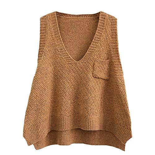 YOUMU Women Knitted Vest Waistco...
