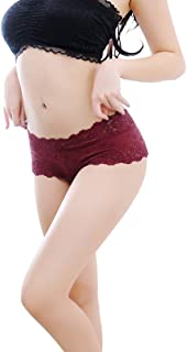 Underwear for Women Bummyo Women's Sexy Lace Panties Seamless Breathable Comfortable Panty Hollow Briefs Soft Underwear