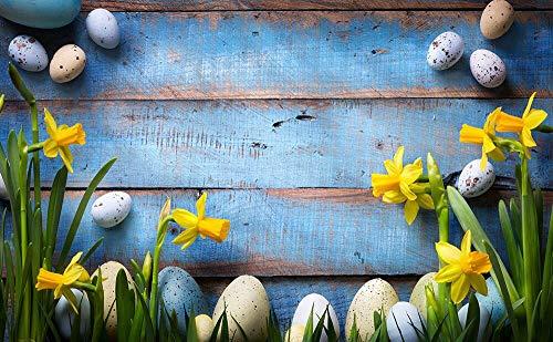 Telones de Fondo Cumpleaños Boda Tablero de Madera Flores de Primavera Tablones con borlas Decoración Fotografía Fondo Estudio fotográfico Photocall A39 9x6ft / 2.7x1.8m