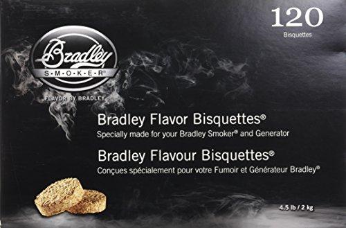 Bradley Smoker BTWOSE120 Whiskey Eiche Bisquetten 120 Pack