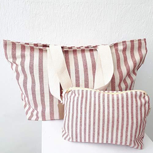 Handmade in Spain Cotton Bag. Bolso de loneta de algodón Hecho a Mano en España