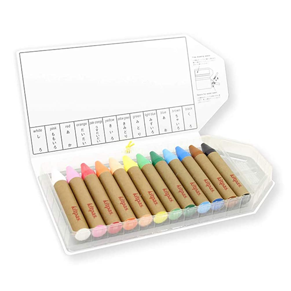 Large Coloring Crayons - Set of 12 Colors