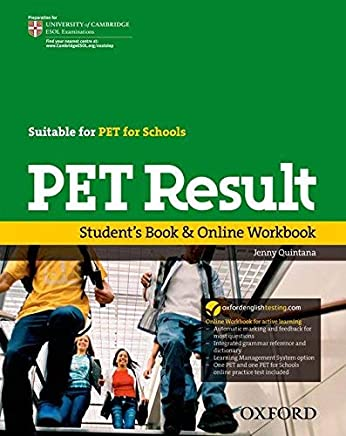 PET Result:: Students Book & Online Workbook by Jenny Quintana(2010-03-18)
