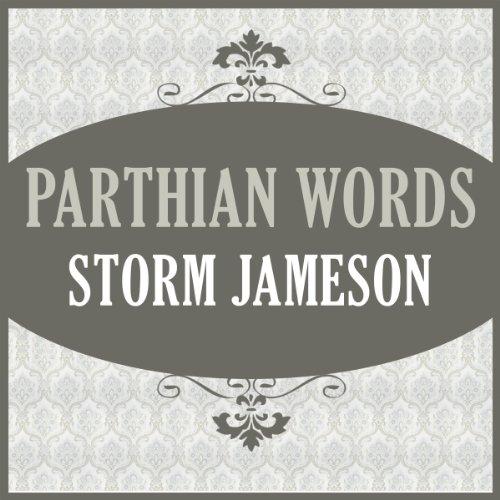 Parthian Words audiobook cover art