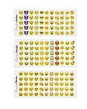 12 Hojas Emoticonos Pegatinas Decoración (660)