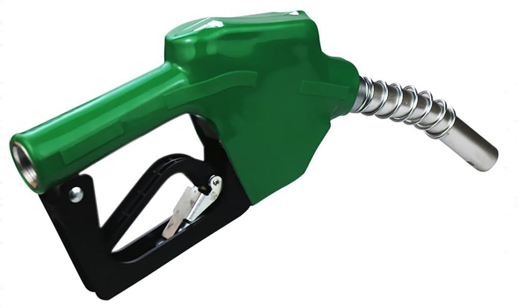 Full Grip Guard Diesel Nozzle with Open Clip 5 Colors Gazechimp Black Automatic Fuel Nozzles Black