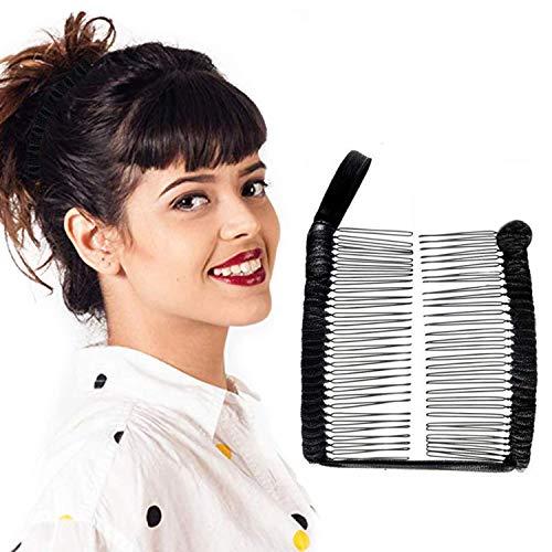 Banana Haarspangen für Damen, dehnbar, Haar-Accessoire für dickes Haar