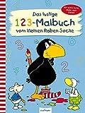 Das lustige 1 2 3 – Malbuch vom kleinen Raben Socke: Mit extra Seite: Malen nach Zahlen (Der kleine Rabe Socke)
