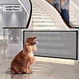 Pet barriera cancelletto di Sicurezza, Barriera di Sicurezza Estensibile, Dog Gate, Porta magica per cane, Magic Gate for Dogs, Barriere per Cani, Magic Pet recinzioni, Cancello Magico per Cani