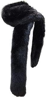 black fox scarf