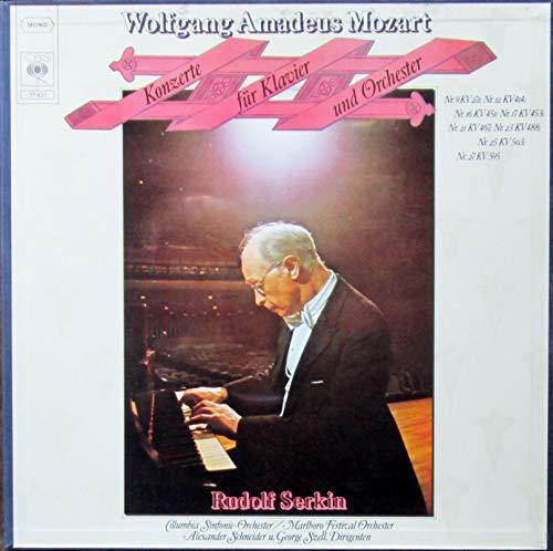 Mozart: Konzerte für Klavier und Orchester [Vinyl Schallplatte] [4 LP Box-Set]