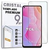 Protector de Pantalla para TCL 10L, Cristal Vidrio Templado Premium