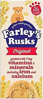 Heinz Farley Rusks, Biscuits For Baby's & Toddlers, 5.3-Ounce Boxes (Pack of 6)