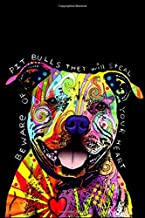 Dean Russo Pit Bull dog journal : Great Notebook for School or as a Diary, Lined With 100 Pages, Journal, Notes and for Dr...
