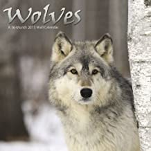 Wolves 2015 Wall Calendar by Trends International (2014-08-01)