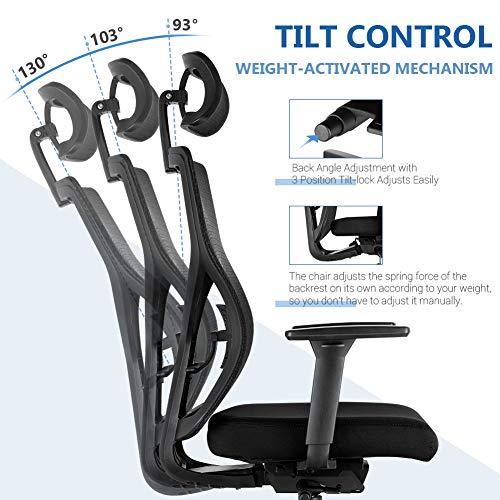 Ergonomic Office Chair Adjustable Desk Chair