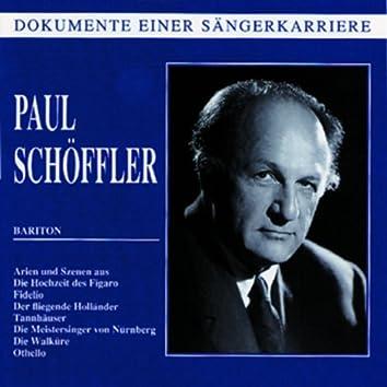 Dokumente einer Sängerkarriere - Paul Schöffler