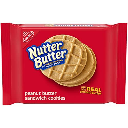 butter snack cookies Nutter Butter Peanut Butter Sandwich Cookies, 11.8 oz