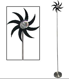 LAMPE INTÉRIEUR SUR PIED LAMPADAIRE ETOILE FLEUR DESIGN INOX METAL CHAMBRE
