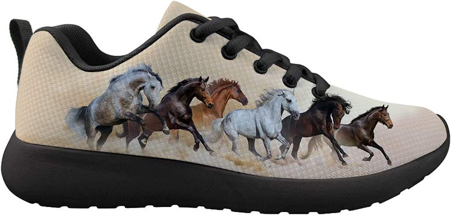 Owaheson Cushioning Sneaker Trail Running shoes Mens Womens High Morale Purebred Gallant Horses