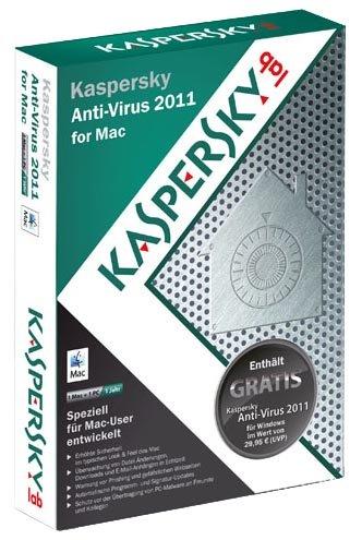 Kaspersky Anti-Virus 2011 for Mac [import allemand]