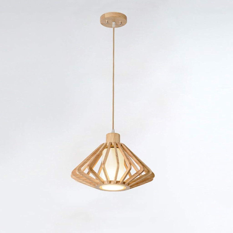 JIAQI Mode hochwertigen Massivholz Kronleuchter Einfache Restaurant Wohnzimmer Schlafzimmer Kronleuchter Kreative Persnlichkeit Eiche Kronleuchter (Farbe   A)