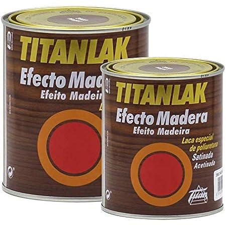 Esmalte titanlak madera 2802 roble 375: Amazon.es: Bricolaje ...
