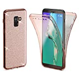 NALIA 360° Glitter Case compatible with Samsung Galaxy A8