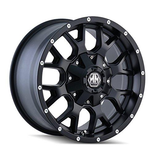 MAYHEM WARRIOR (8015) MATTE BLACK: 20x9 Wheel Size; 6-135/6-139.7 Lug Pattern,...