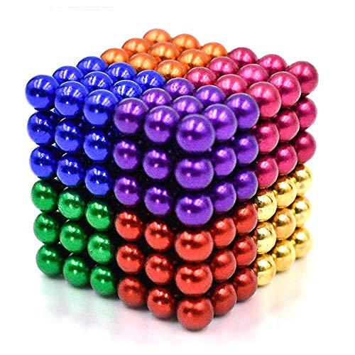 LOVEYIKOAI Upgraded 5MM 216 Pcs Magnets Cube Building Blocks Magnetic Toys...