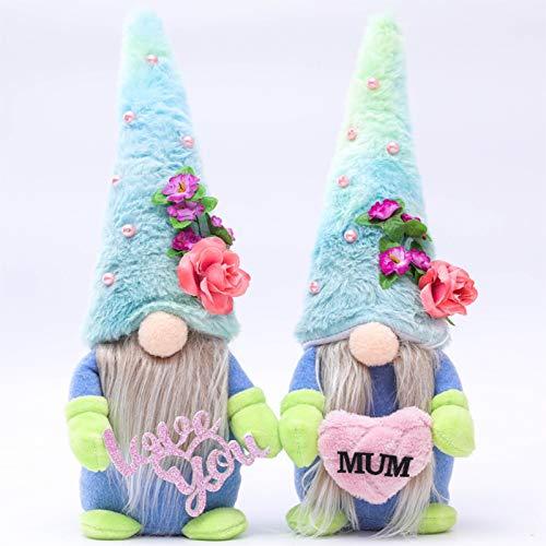 Jootime Muttertag Deko Wichtel, Plüsch Schwedische Wichtel Dolls, Gesichtslose Puppe Desktop-Dekoration Basteln, Familie Festliche Geschenke