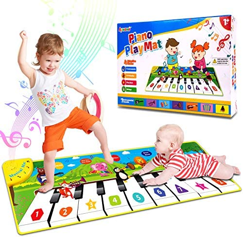 Aywewii Musical Toys Music Mat Piano Play Mat Child Floor Piano Dance Keyboard Mat Early Education product image
