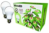Miracle LED Almost Free Energy 150W Commercial Hydroponic Ultra Grow Lite - Daylight White Full Spectrum LED...