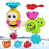 BBLIKE Jouets bébé pour le bain,Mural Cascade Station Ventouses Jouet Baignoire de Bain,Jeux de Bain Bebe 1 2 3 ans, Jeux d eau Bain