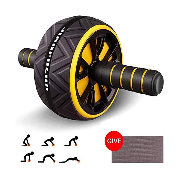 T-link Ab Roller for Abs Workout, Ab Roller Wheel Exercise Equipment for Core Workout,...