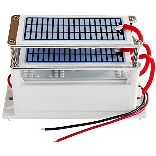 ATWFS Generador de ozono ionizador, Placas Cerámicas Integradas Adecuadas para Esterilizador de Aire Purificador de aire, Ozonizador (28G)