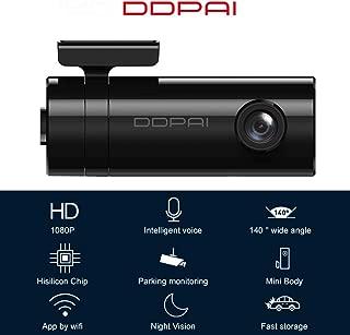 Festnight DDPAI,Mini 1080P Dash Cam DVR Sensor Night Vision Car Dash Camera 24H Parking Recorder