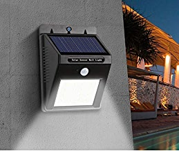 Hemiza Zamkar Trades Waterproof Solar Motion Sensor 20 LED Light