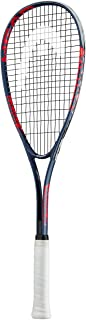 HEAD Spark Team Pack - Beginners Pre-Strung Squash Racquet with Goggles & Two Balls