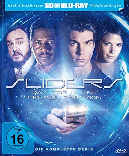 Sliders - Das Tor in eine fremde Dimension - Die komplette Serie - Mediabook (SD on Blu-ray) [Limited Edition]