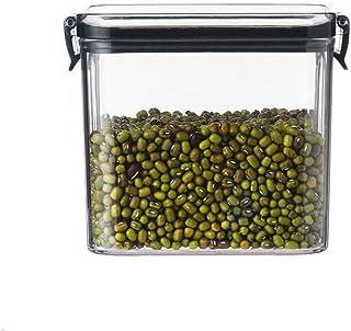 700 ml Boîtes de rangement carrées hermétiques en plastique transparent avec couvercles pour la cuisine garde-manger l'org...