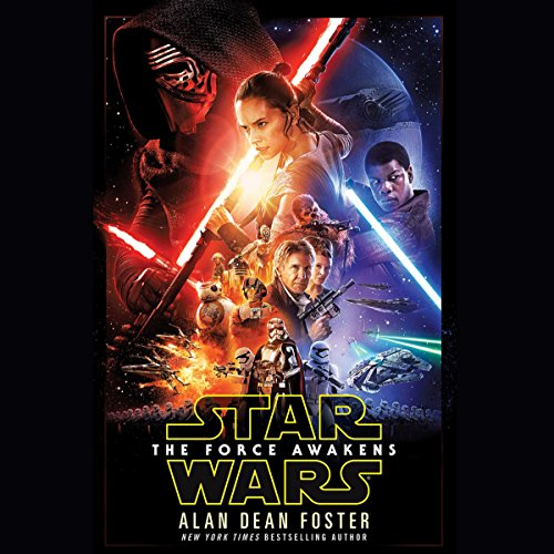 Star Wars: The Force Awakens audiobook cover art