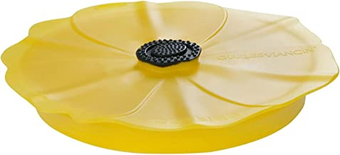 Charles Viancin - Poppy Pop Silicone Lid for Food Storage - 6''/15cm - Airtight Seal on Any Smooth Rim Surface - BPA-Free...