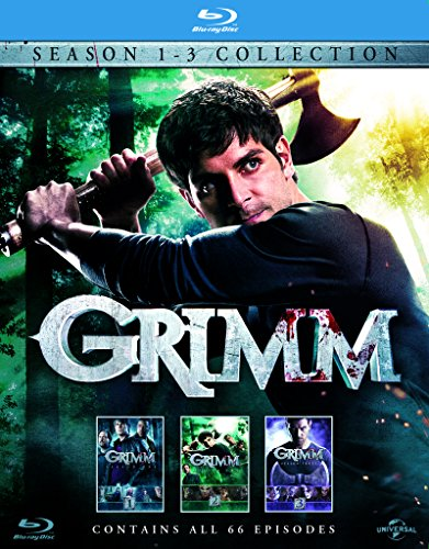 Grimm - Season 1-3 [Blu-ray]