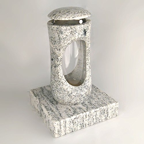 designgrab Design Small Grab Lampe avec socle en granit viscont White/madanp Alli, pierre tombale Set