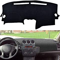 The Dash Board Cover Mat compatible with 2007-2012 Nissan Altima, 2007-2012 Altima Sedan Coupe This dash cover protects the dash surface from ultraviolet rays that can cause cracks and warping.It can cover blemishes and imperfections of old dashboar...