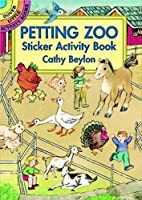 Petting Zoo Sticker Activity Book (Dover Little Activity Books Stickers)