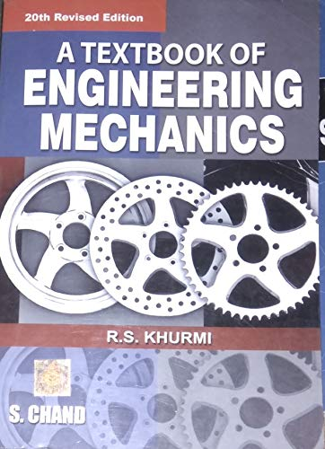 A Textbook of Engineering Mechanics (Multicolour Edition), 20th Edition