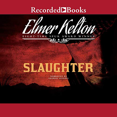Slaughter audiobook cover art