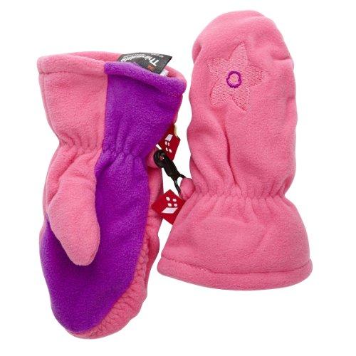 Lego Wear gants pour bébé fille lEGO duplo gants et moufles en polaire aïcha 617–taille 74/80 cm-rose (458/rose)